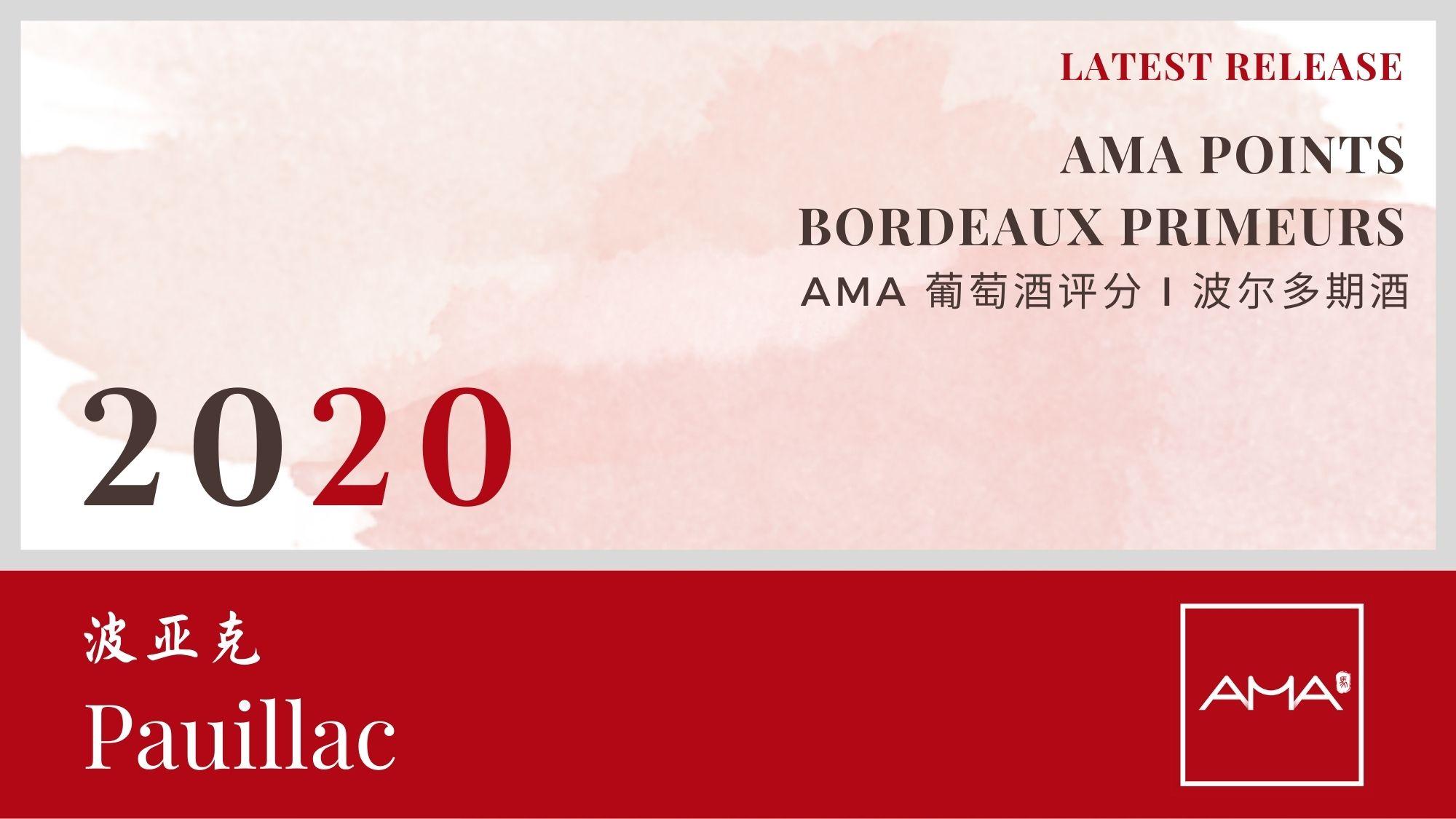 最近发布 – 2020年份波尔多波期酒解析 – 波亚克– CN - Alexandre Ma