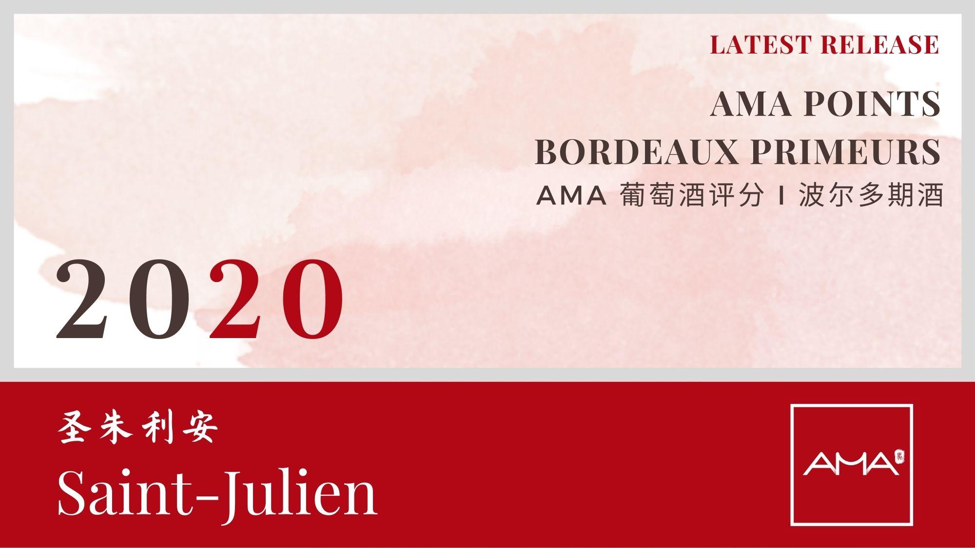 最近发布 – 2020年份波尔多波期酒解析 – 圣朱利安 – CN - Alexandre Ma