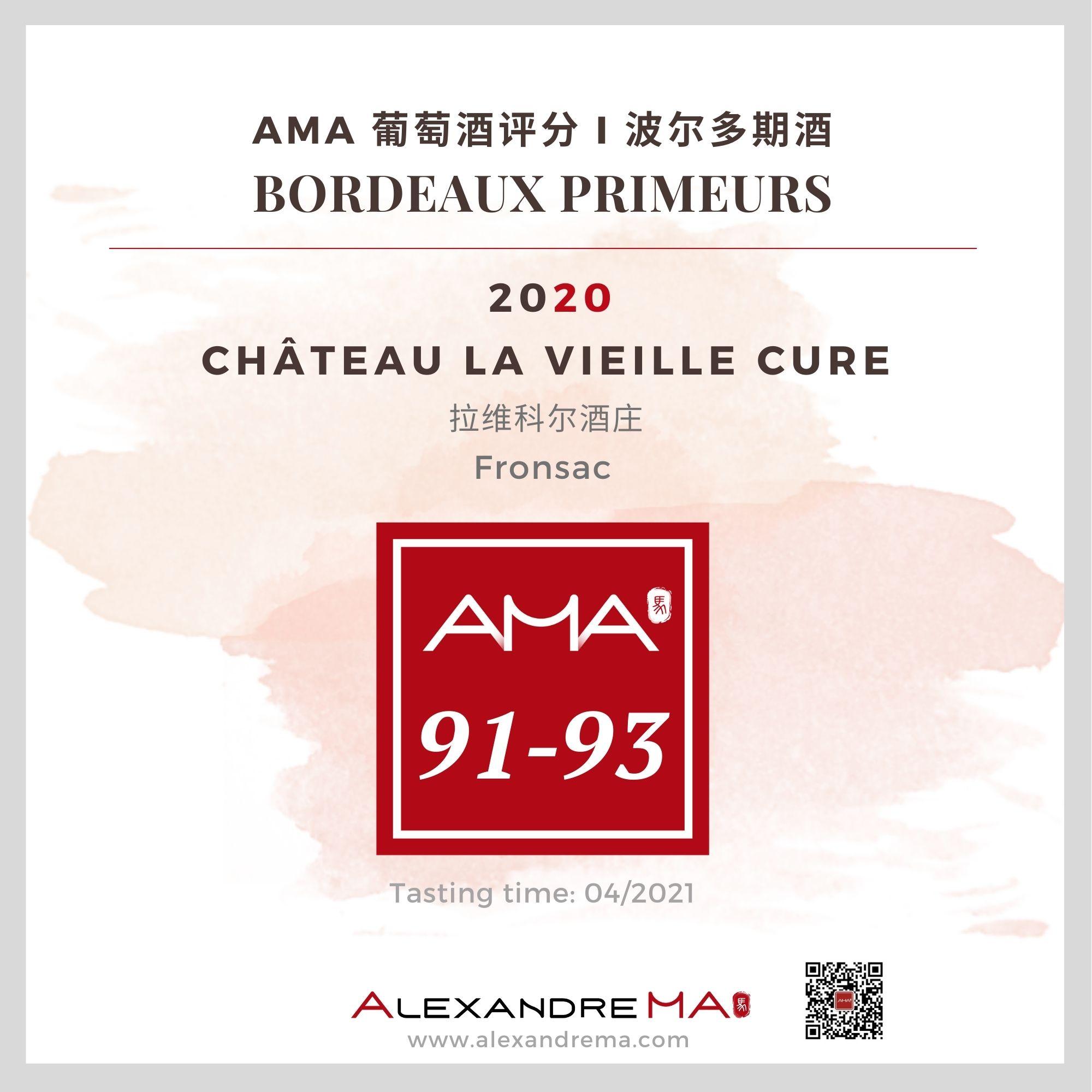 Château La Vieille Cure – Red – 2020 – CN - Alexandre Ma