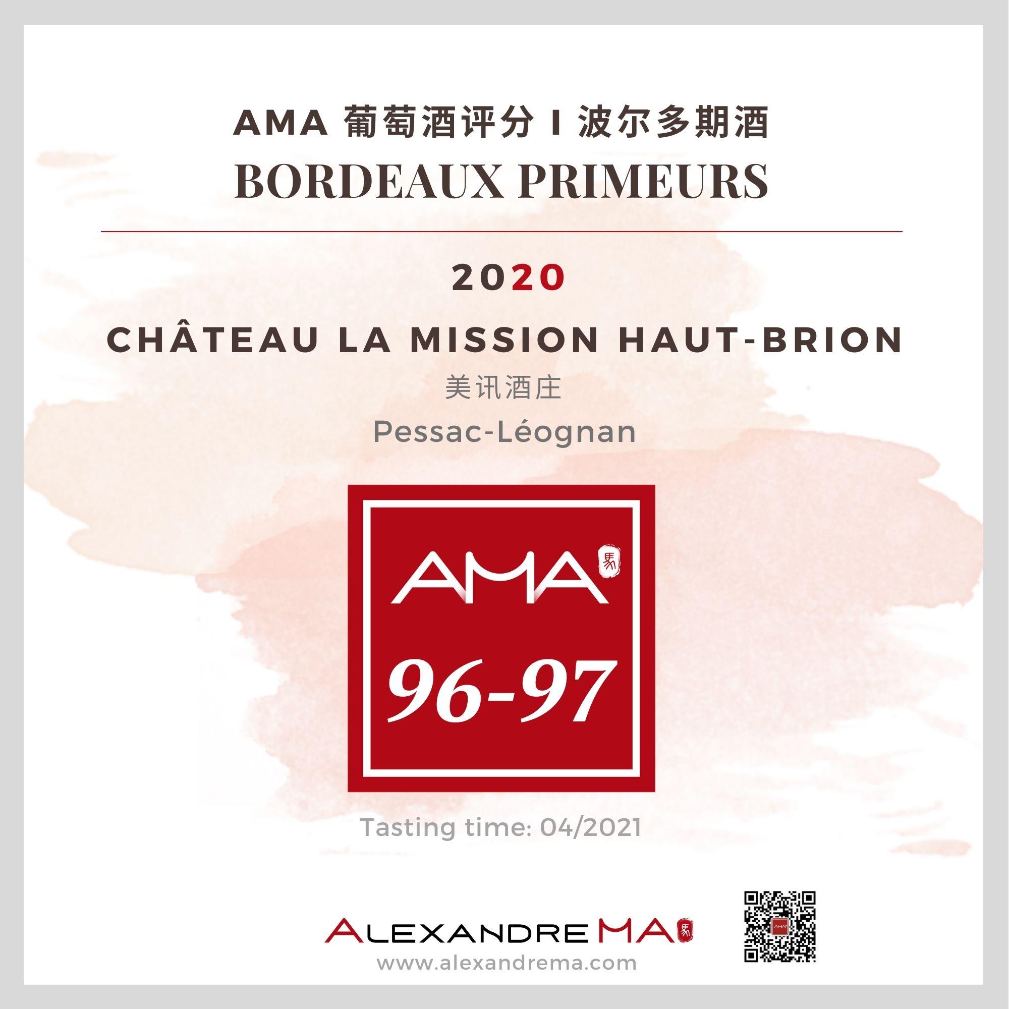 Château La Mission Haut-Brion – Red – 2020 – CN - Alexandre Ma