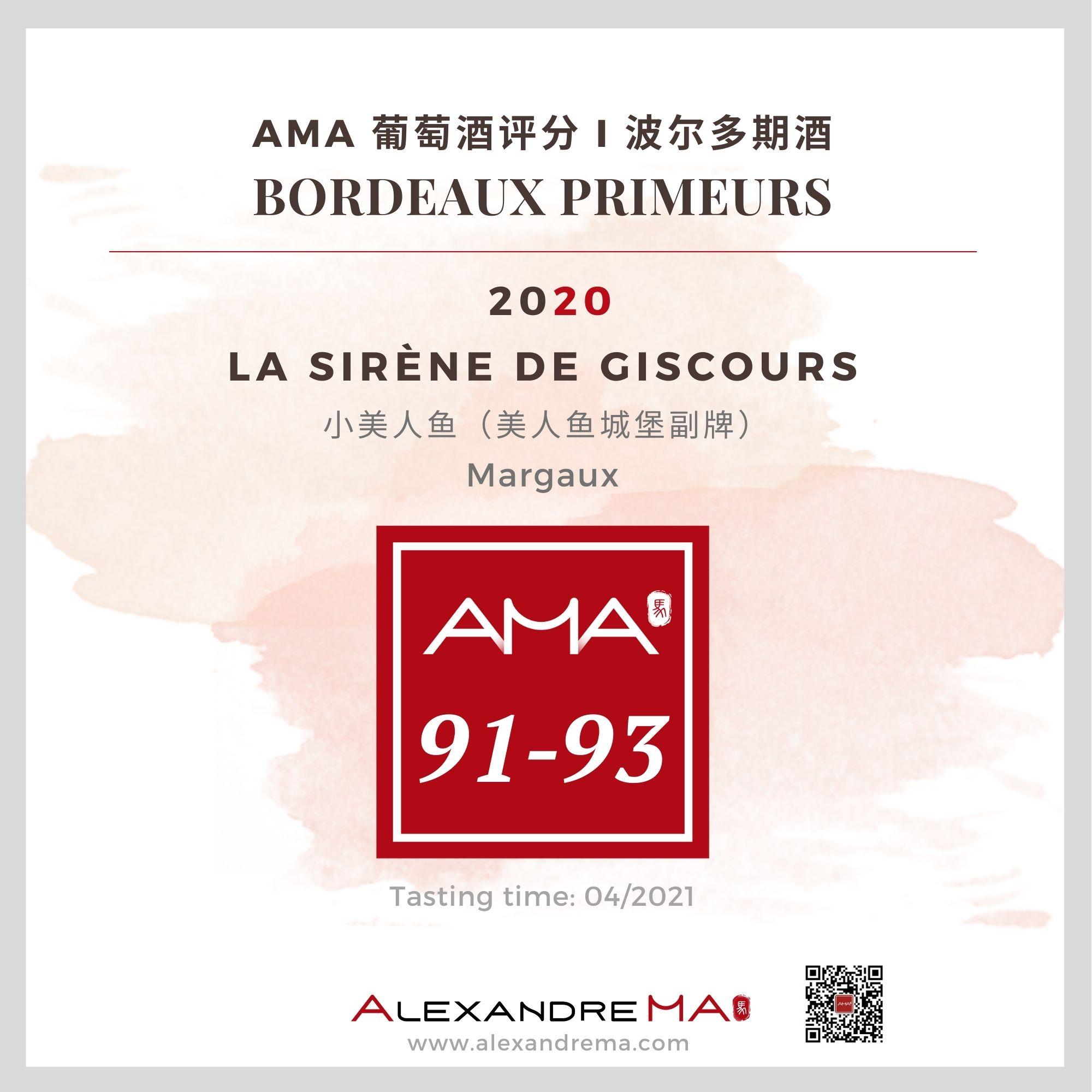 Château Giscours – Château Giscours  – Red – 2020 – CN - Alexandre Ma