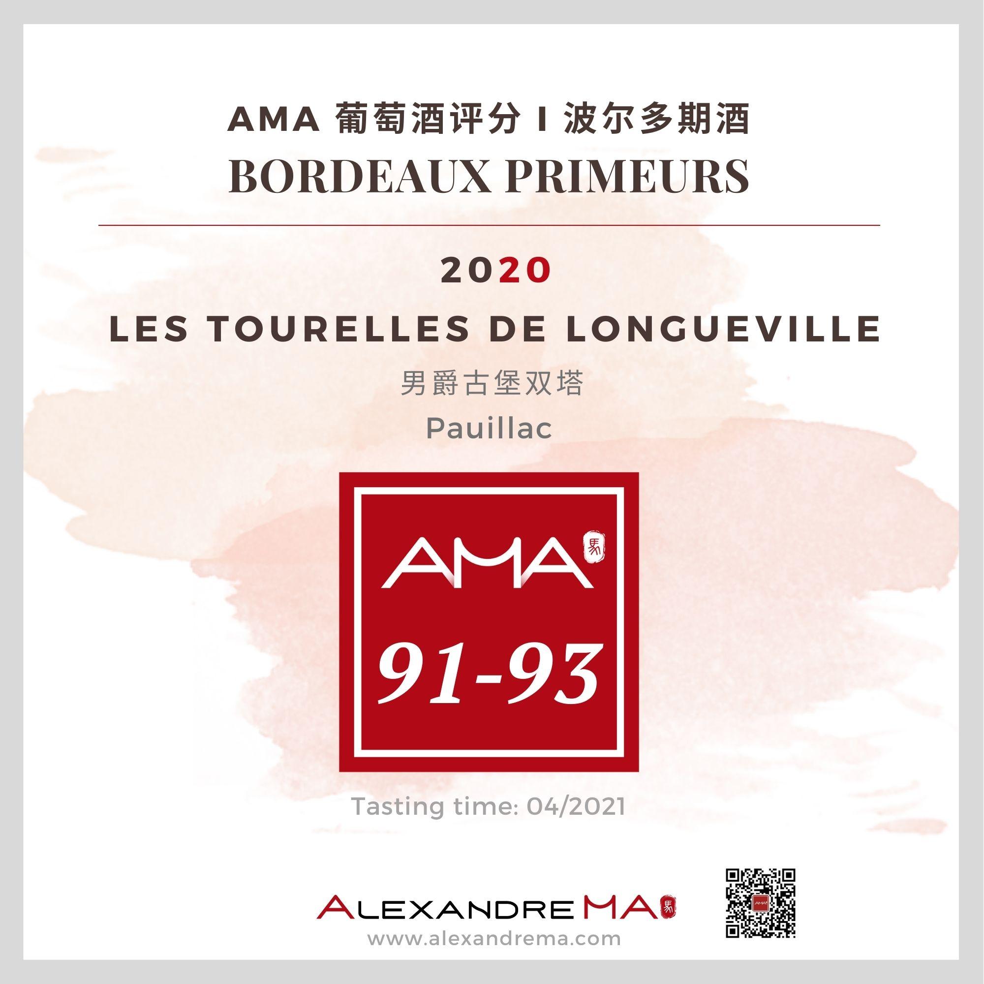 Château Pichon Baron – Les Tourelles de Longueville  – Red – 2020 – CN - Alexandre Ma