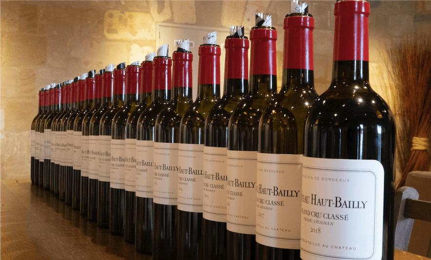 Château Haut-Bailly vertical tasting (1998-2017) - Alexandre MA